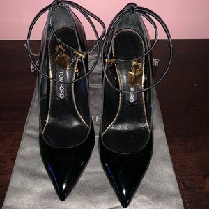 Tom Ford black heels
